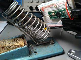 Initial Soldering Iron Temperature Measurement